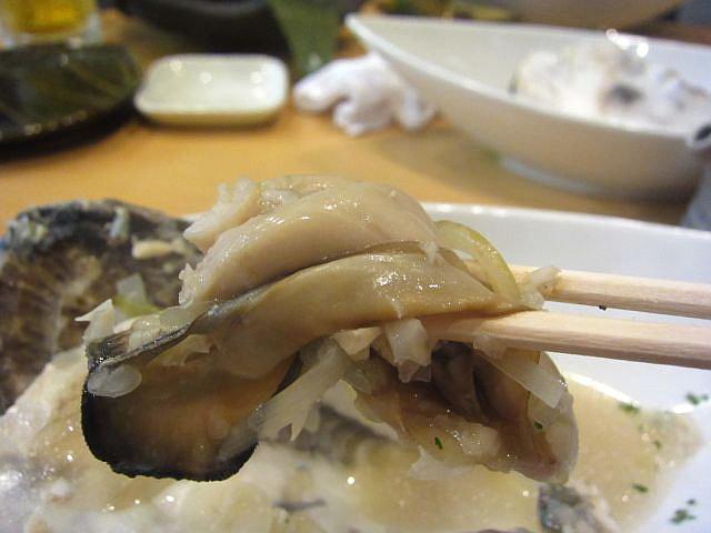 牡蠣の白ワイン蒸し(2個入) お箸もち