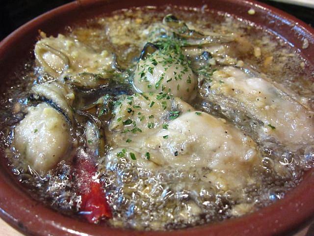 牡蠣のガーリックオイル煮 780円