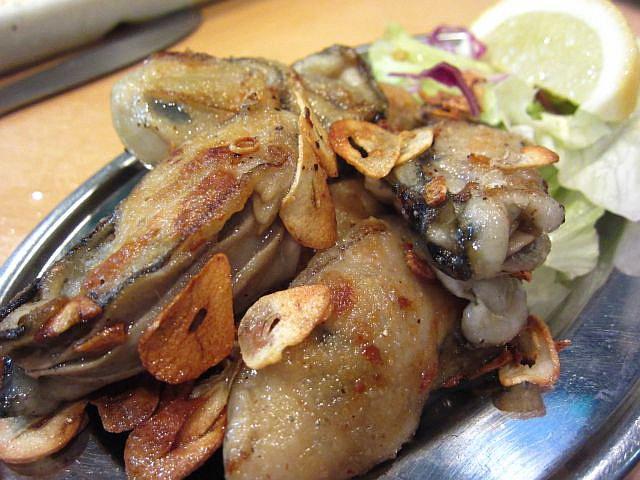 牡蠣ガーリック 780円