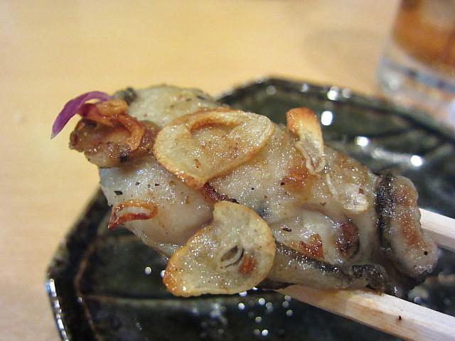 牡蠣ガーリック お箸もち