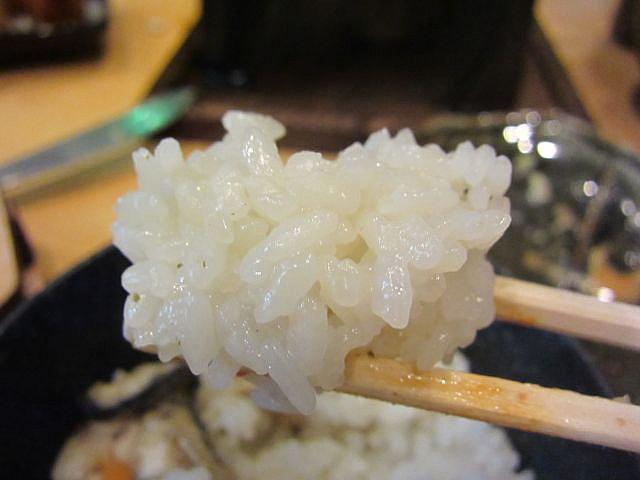 牡蠣の釜飯 お箸もち