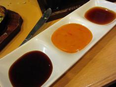 牡蠣のお好み焼き ソース