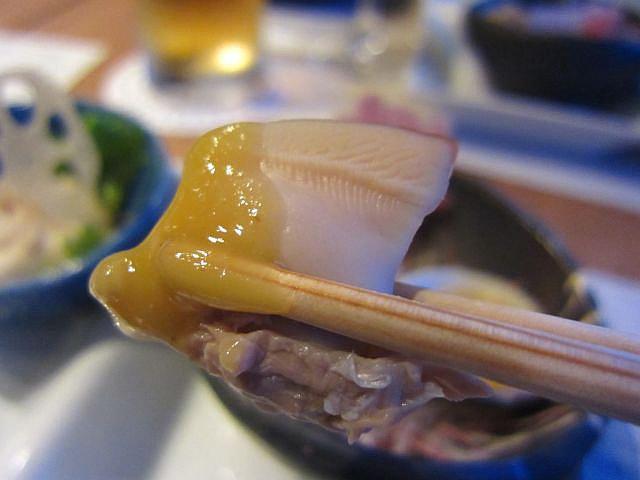 前菜 蛤のお造り