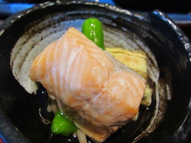 鮭の煮浸し