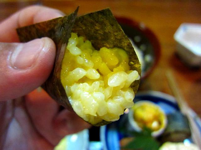 至福の卵かけご飯 海苔包み3