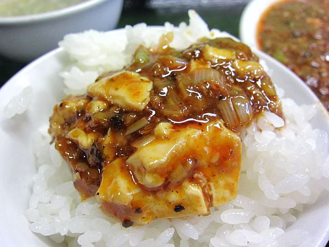 マーボ-豆腐 オンザライス