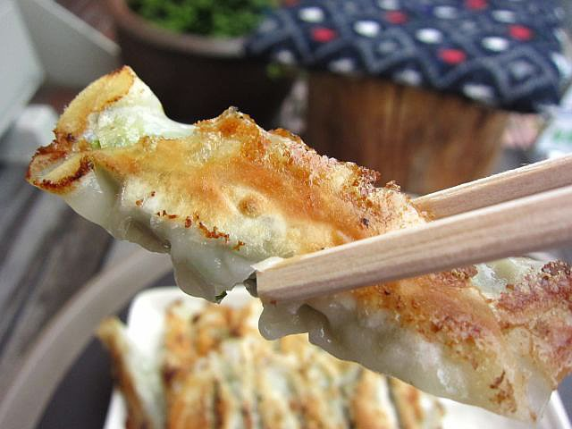 焼き餃子 お箸もち