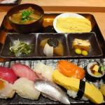 曽根崎新地 『旬菜・すし処 慶鮓』 ここのにぎり定食、超ウルトラオススメです。