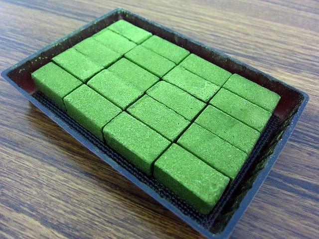 宇治抹茶生チョコレート 箱3