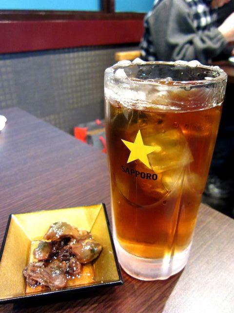 s-烏龍茶&かき煮