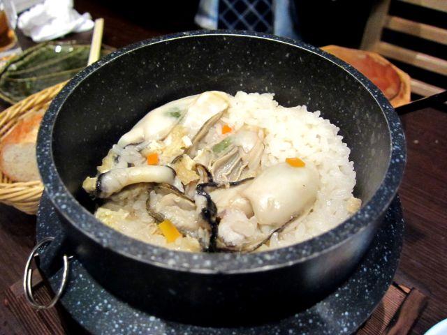 s-牡蠣の釜飯 980円