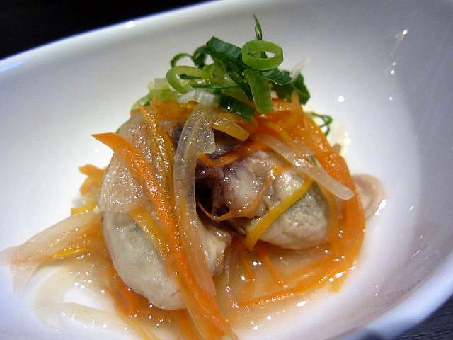OYSTER HOUSE YAMATO 牡蠣の南蛮漬け 380円