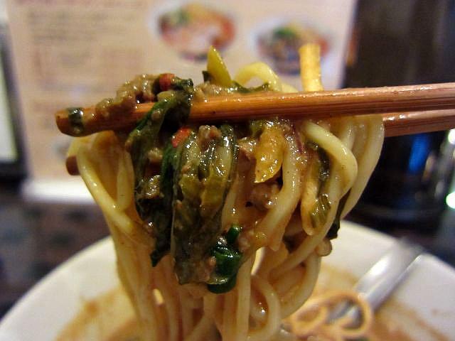 s-タイカレーラーメン(ポーク)麺あげ2