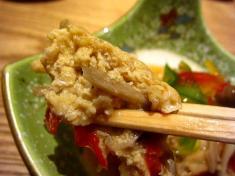 豆腐ハンバーグ お箸もち