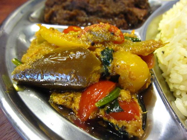 野菜カレー アップ