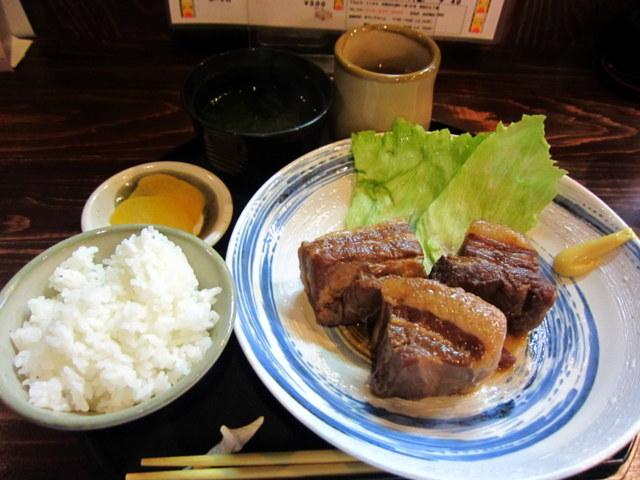 ラフテー定食 800円