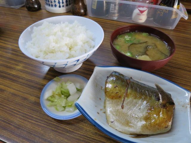 鯖煮付定食 500円