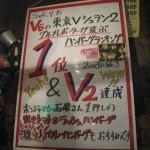 東京都渋谷区 V V V 6のハンバーグ部門 1位 『ハンバーグレストラン GOLD RUSH 本店』