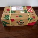 お取り寄せ 『らでぃっしゅぼーや』 定期的に美味しい野菜が自宅に届きますよ。
