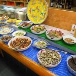 瓢箪山駅 『清水寿司店』 ランチの惣菜バイキングはすごく大満足!