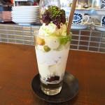 阪急茨木市駅 『カフェ 小町(CAFE co*machi)』 ここの和風パフェ、ウルトラメチャ旨い!
