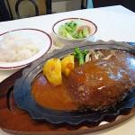 堺市駅 『レストラン ロワール』 牛肉100%のハンバーグ、ウルトラメチャ旨い!