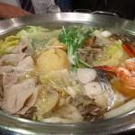 豊崎 『情熱うどん讃州 豊崎本店』 忘年会はこのうどん鍋コースがお得です。