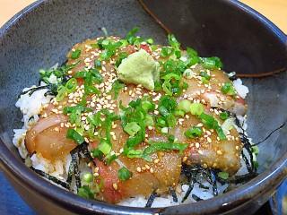 鮨喰処山河 ぶりゴマ丼