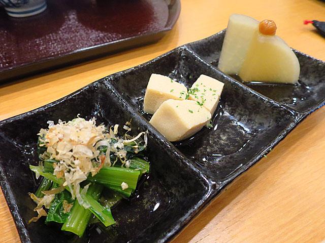 池輝 惣菜3品