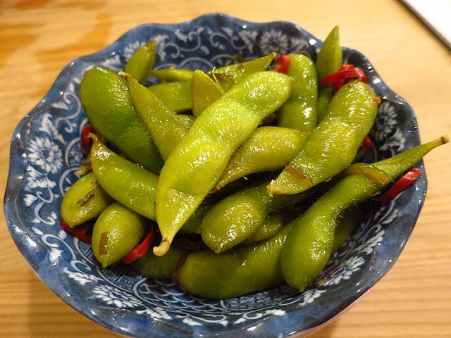 餃子屋チハラ ピリ辛枝豆