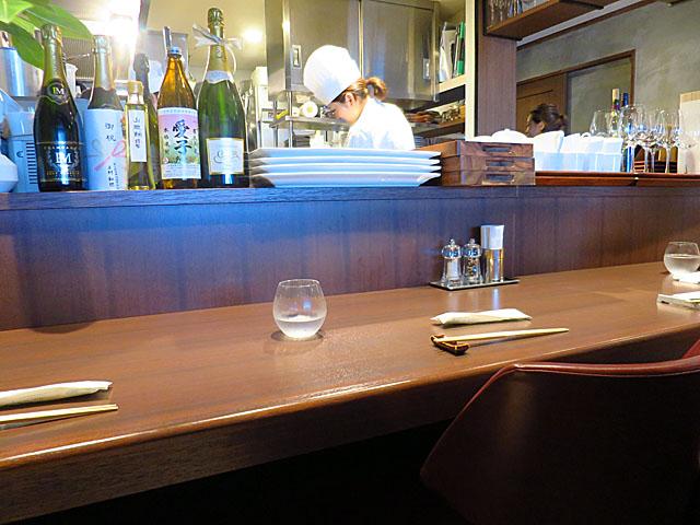 洋食Matsushita 店中カウンター