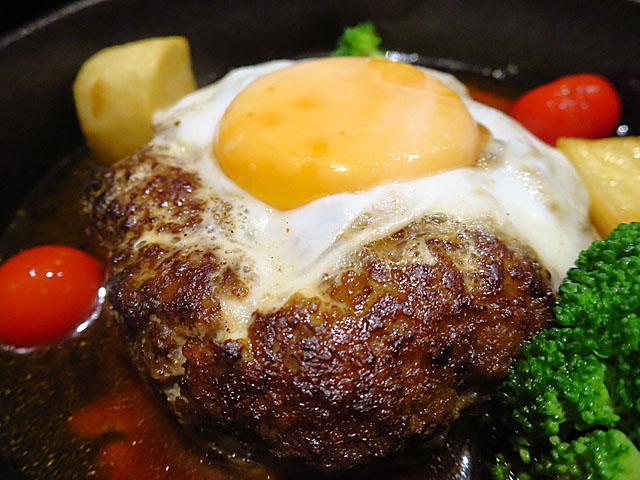 洋食Matsushita ハンバーグステーキアップ