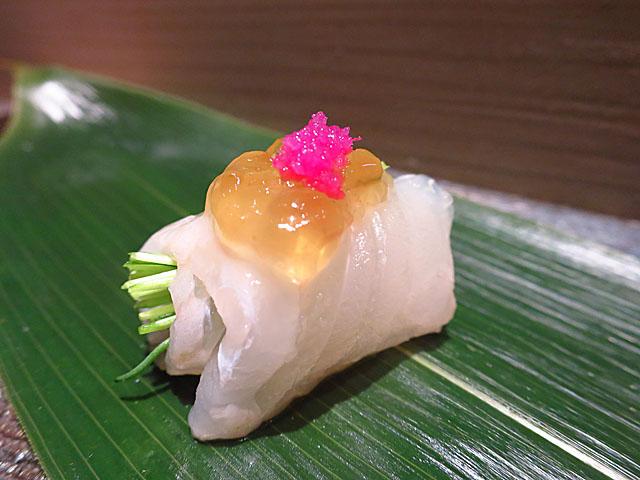 鮨 たくま ヒラメ