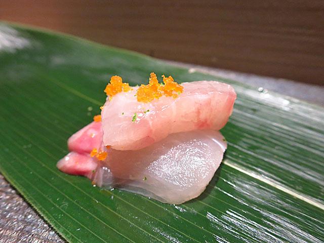 鮨 たくま 金目鯛