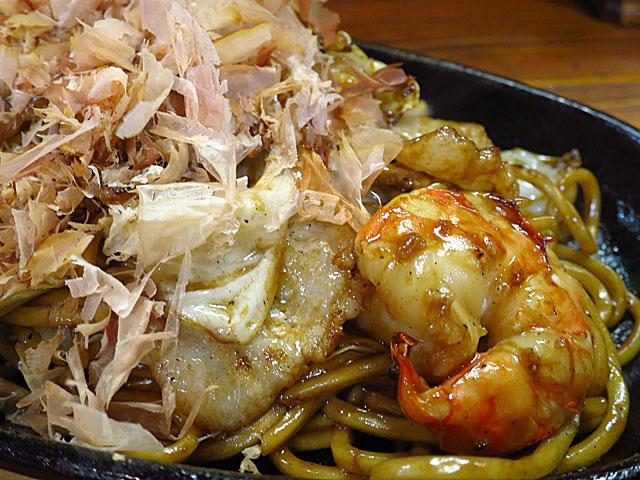 生麺焼そば こなひろ 海鮮そばアップ