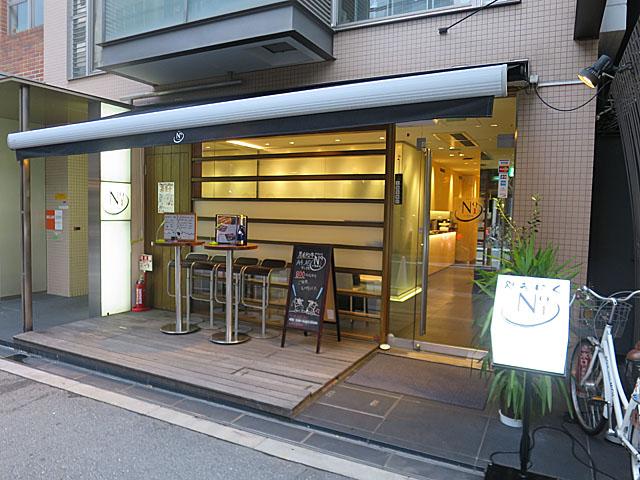 焼肉No.1 店前