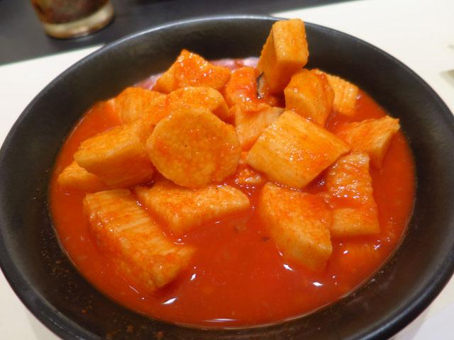 焼肉No.1 山芋キムチ