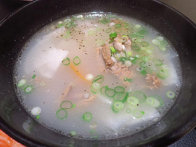 焼肉№1 テールスープ