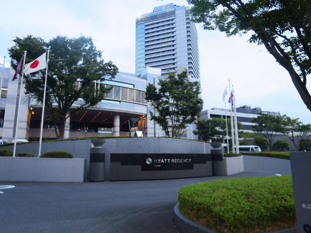 ハイアット リージェンシー 大阪 ホテル前