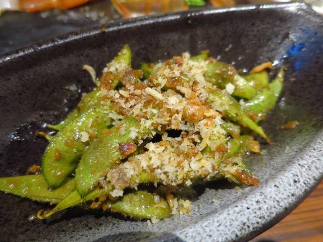 ビストロ魚丸 枝豆のペペロンチーノ風