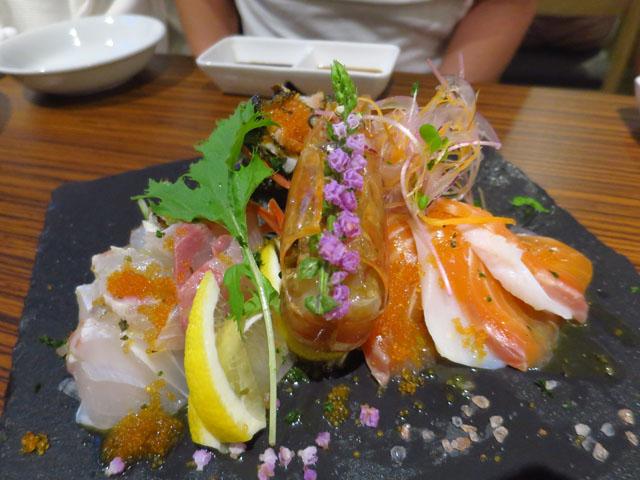 ビストロ魚丸 カルパッチョ盛 成田山