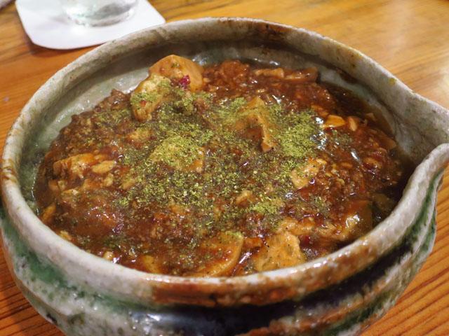 炭焼 尚店 鶏の麻婆豆腐