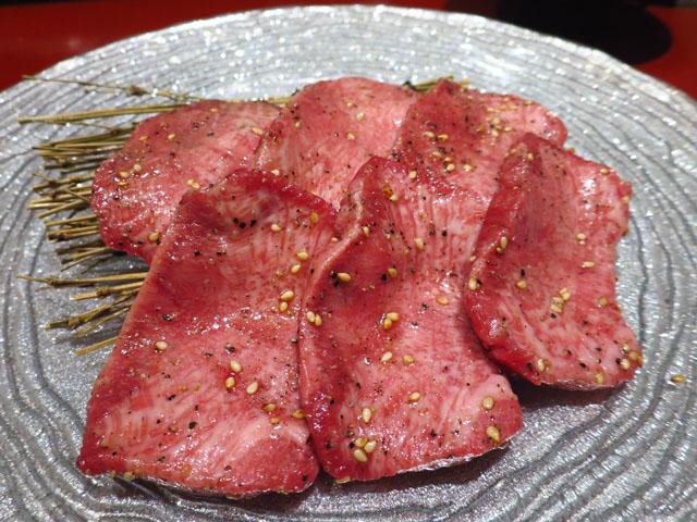 焼肉トラジ 大阪ヒルトンプラザ ウエスト店 トラジの生Tカットタン塩