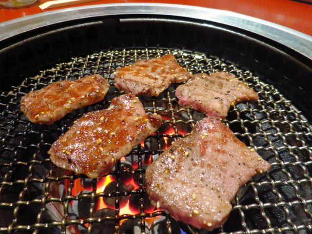 焼肉トラジ 大阪ヒルトンプラザ ウエスト店 トラジの生Tカットタン塩焼き
