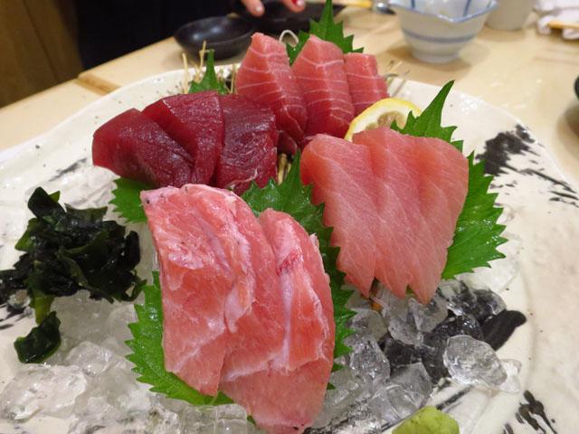 マル長 鮮魚店 マグロ4種盛り
