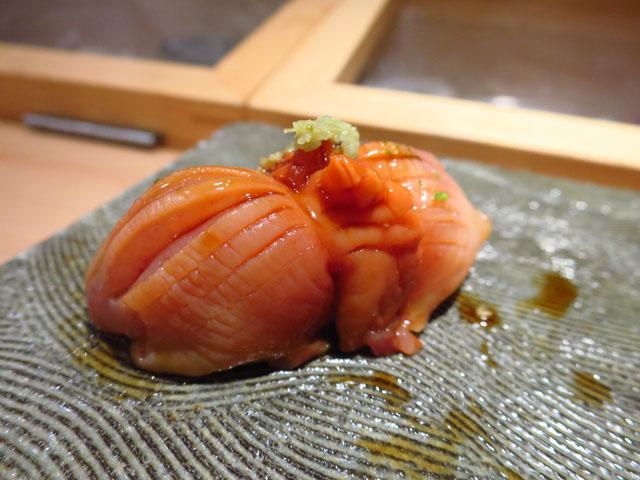 鮨 ゆうじろう 赤貝