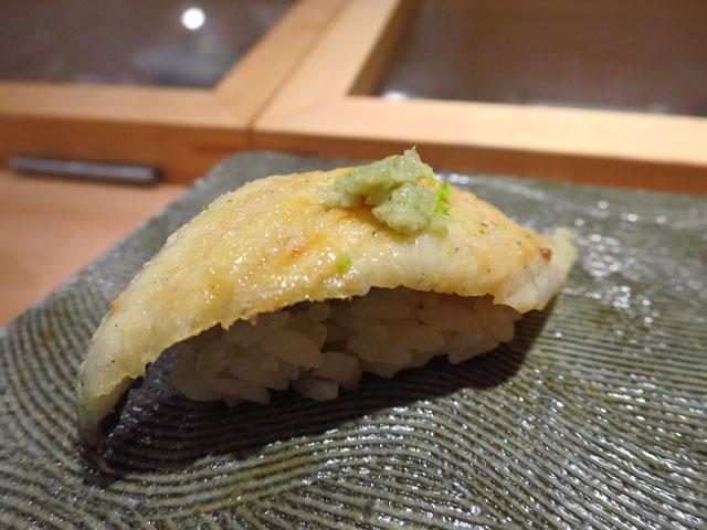 鮨 ゆうじろう 鰻白焼き