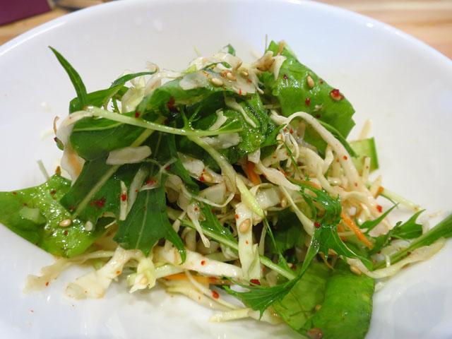 韓国家庭料理おんに チョレギサラダ