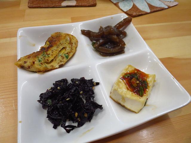 韓国家庭料理おんに 前菜4種盛
