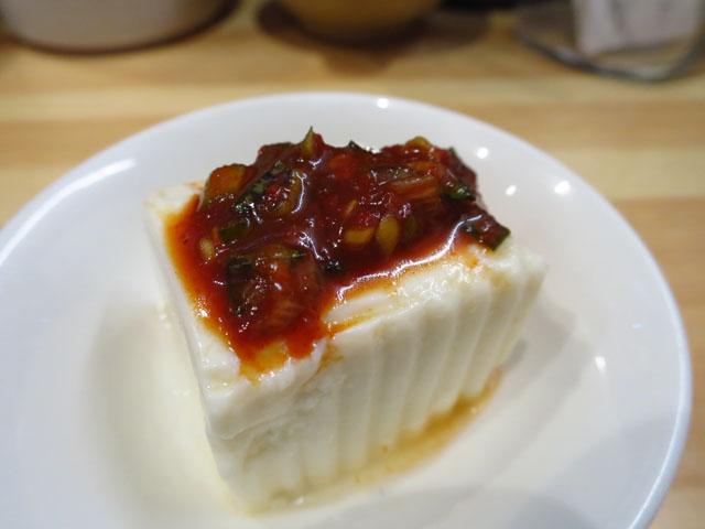 韓国家庭料理おんに 韓国冷奴